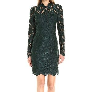 Betsy Johnson | Lace Sheath Dress